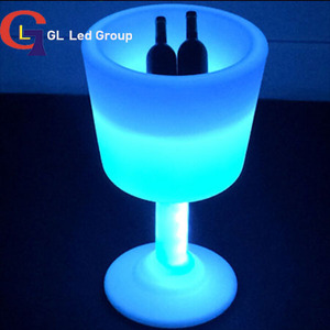 Led furniture stand beer bucket