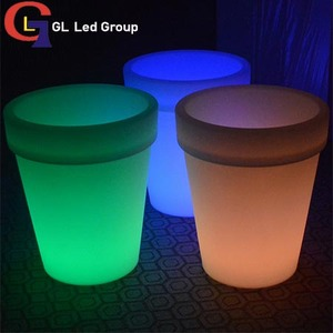 Led Lip Up flower pot