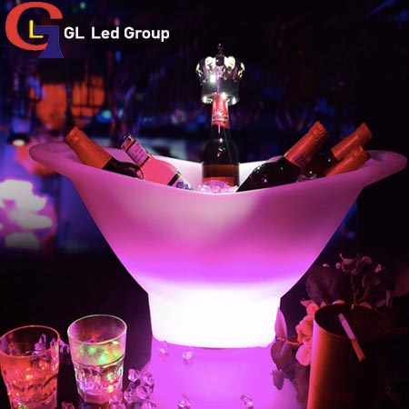 Led RGB ice bucket