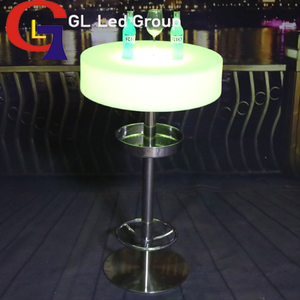 Led lights table for party