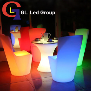 Led dinner chair