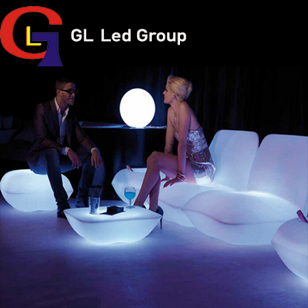 Led decoration table