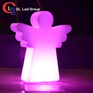 Led Lit Up Angel