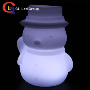 Led Lit Up Snowman