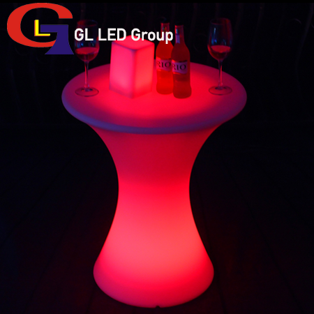 Led table for event decorations