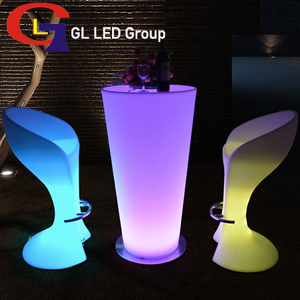 Led light wedding table