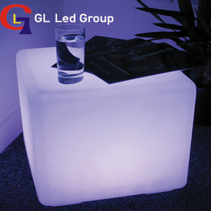 Led Cube Table/Seat