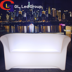 Led lit up sofa