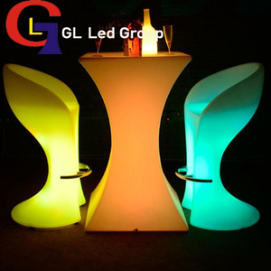 Led night club table