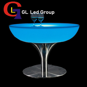 Led party lighting table