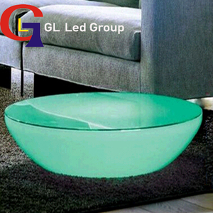 Led home decor table